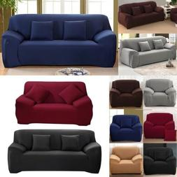 1 2 3 4  Seaters Stretch Sofa Covers Sectional Couch Cover S