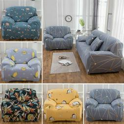 1-4 Seater L Shape Sectional Sofa Slipcover Stretch Corner S