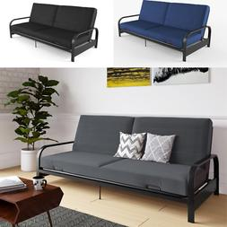 6 Futon Sofa Bed With Mattress Full Size Couch Sleeper Conve