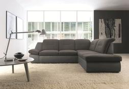 ESF Furniture Credo Sectional with Sofa Bed and Storage, mad