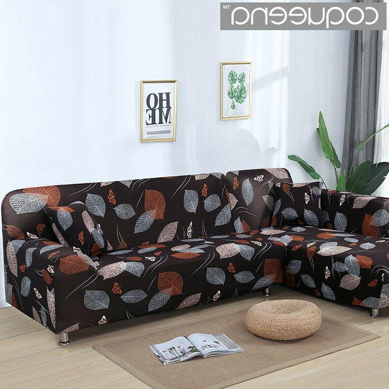 2 pieces covers for l shaped sofa