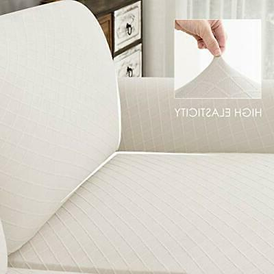 CHUN YI 2 Pieces Stretch Couch...
