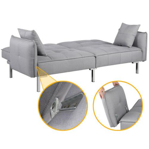 Convertible Sofa Sectional Futon Daybed Pull Bed Mattress