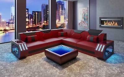 Glamorous Sectional For Living Room Infinite Illusion Mirror