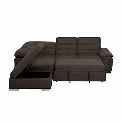 Homelegance Sofa with Pull Bed