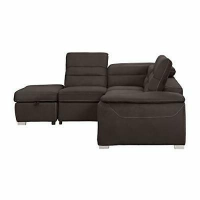 """Homelegance 103"""" Sofa with Out"""