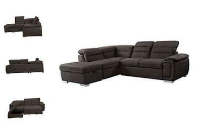 homelegance platina 103 sectional sofa with pull