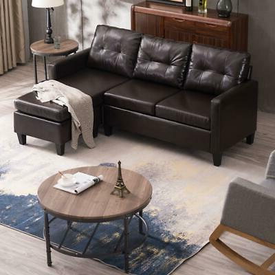 PU Sectional Sofa Desige Couch