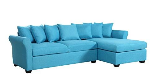 Modern Sectional Sofa, with Extra Wide Chaise Lounge