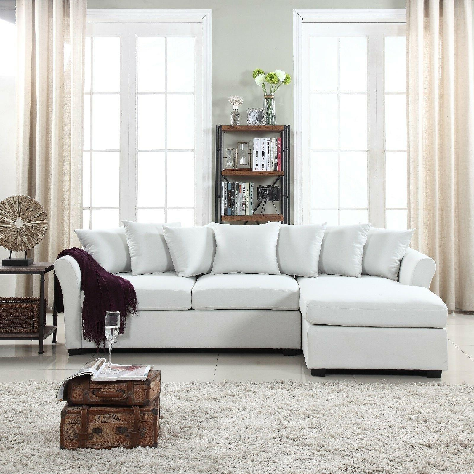 Modern Large Sectional Sofa Chaise -