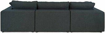 Modular Style Sectional L-Shape Table &