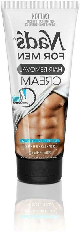 Nad'S For Men Hair Removal Cream -  Painless Hair Removal Fo