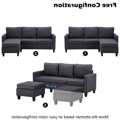 New Sectional Couch Back Dark