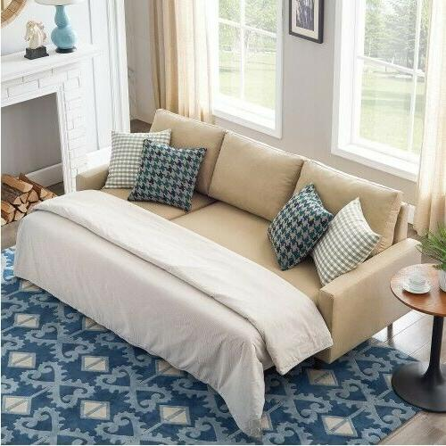 pull out sleeper sectional sofa bed modern