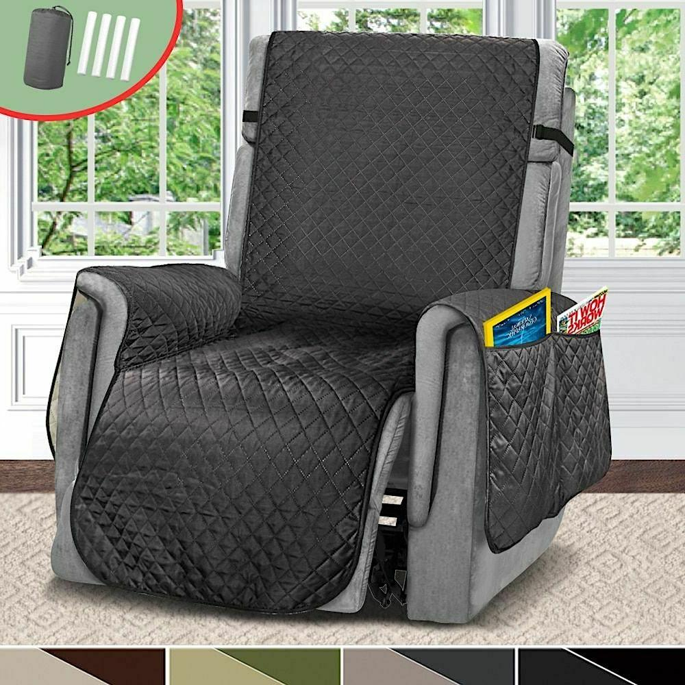 Sofa Pet Dogs Livings Rooms Quilted Recliner