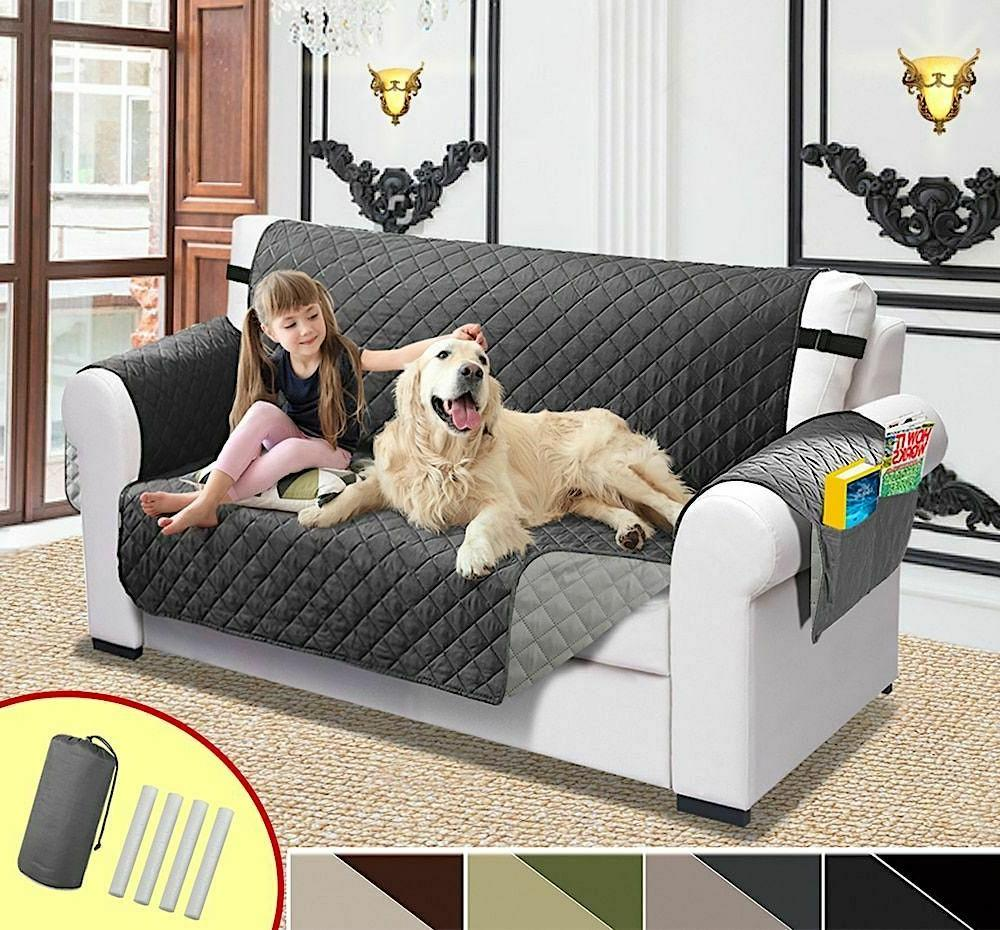 sofa cover for pet dogs and kids