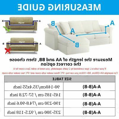 New Sectional Stretch Sofa Couch
