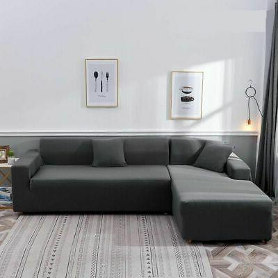 New Sofa Sectional Stretch Fabric Sofa Couch