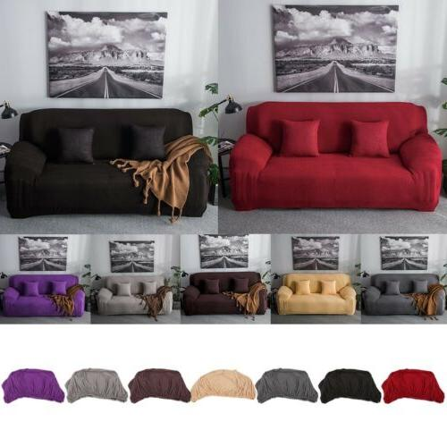 Stretch Elastic Fabric Sofa Cover Sectional/Corner Couch Cov