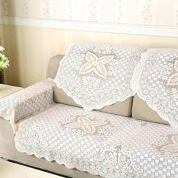 Lace Sectional Sofa Cover Armchair Slipcovers Furniture Prot