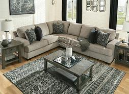 new modern living room furniture brown chenille