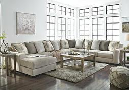 NEW Modular Sectional Living Room Furniture - 5 pieces Gray