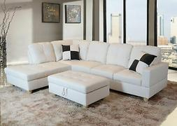 Beverly Fine Furniture Right Facing Russes Sectional Sofa Se