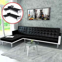 Sofa Bed Couch Leather Sectional Sofas Sleeper L-shaped Sofa