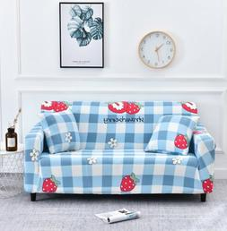 Stretch Slipcovers Sectional Elastic Stretch Sofa Cover for