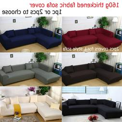 Thickening 3-Seater Sofa Cover or L Type 3+3 Seater Separate