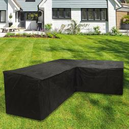 Waterproof Sofa Sectional Cover Corner Couch Outdoor Furnitu